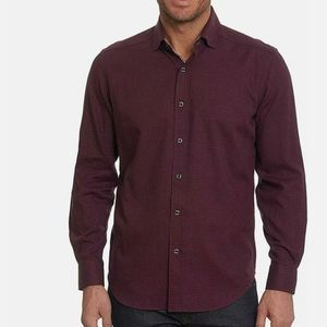 Robert Graham Colin Tailored Fit Button-down